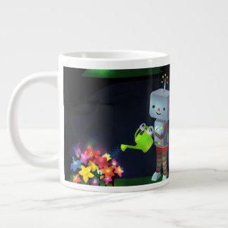 The Robot's Garden Large Coffee Mug