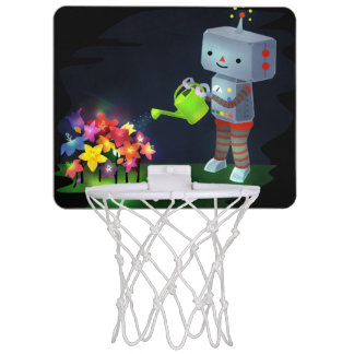 The Robot's Garden Mini Basketball Hoop