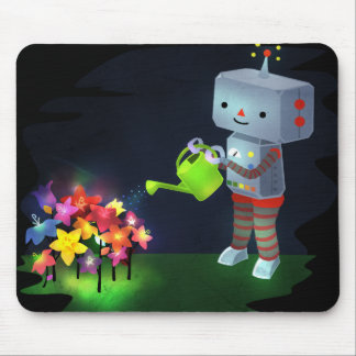 The Robot's Garden Mouse Pad