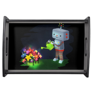 The Robot's Garden Serving Tray