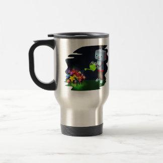 The Robot's Garden Travel Mug