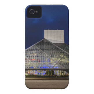 The Rock and Roll Hall of Fame at Dusk iPhone 4 Case-Mate Cases