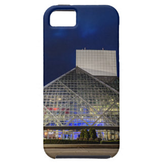 The Rock and Roll Hall of Fame at Dusk iPhone 5 Cover