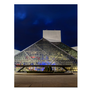 The Rock and Roll Hall of Fame at Dusk Postcard