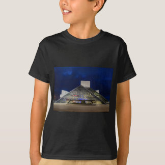The Rock and Roll Hall of Fame at Dusk T-Shirt