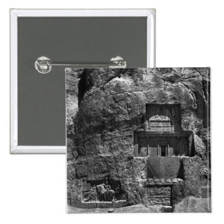 The rock-cut tomb of Artaxerxes I 15 Cm Square Badge
