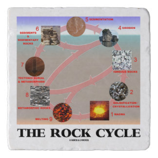 The Rock Cycle Geology Earth Science Trivet