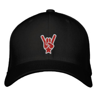 The Rock Sign Embroidered Hat