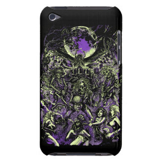 The Rockin' Dead Skeleton Zombies Barely There iPod Cases