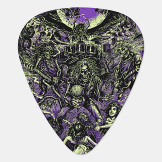 The Rockin' Dead Skeleton Zombies Plectrum