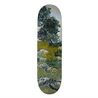 The Rocks by Vincent Van Gogh Custom Skate Board