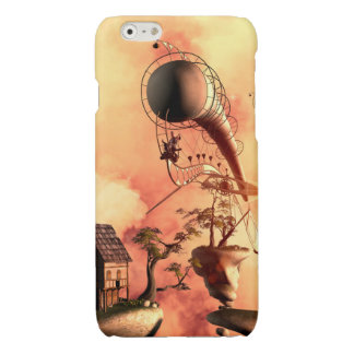 The rocks in the clouds glossy iPhone 6 case