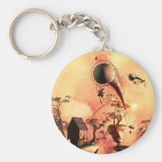 The rocks in the clouds key chains