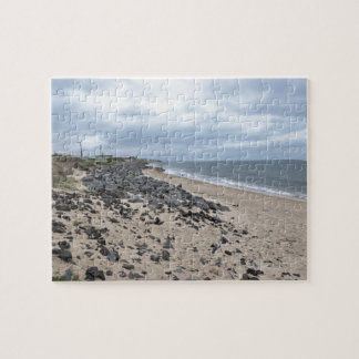 The Rocky Beaches of Montauk, Long Island, NY Jigsaw Puzzle