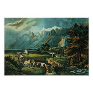 The Rocky Mountains Poster