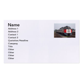 The Roger Williams Train Set Business Cards