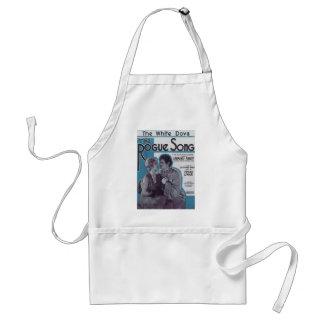 The Rogue Song Vintage Songbook Cover Apron