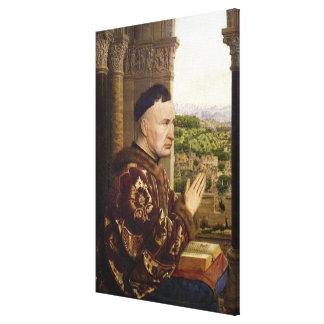 The Rolin Madonna 2 Canvas Print