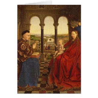 The Rolin Madonna , c.1435 Card