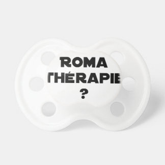 THE ROMA THERAPY? - Word games - François City Dummy