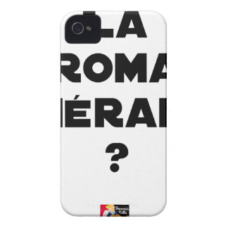 THE ROMA THERAPY? - Word games - François City iPhone 4 Case-Mate Cases