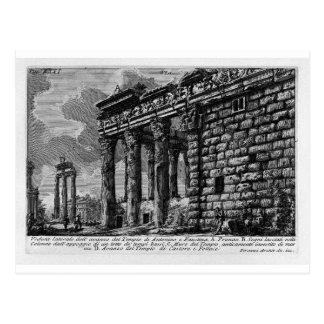 The Roman antiquities, t. 1, Plate XXXI. Temple Postcard