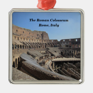 The Roman Colosseum, Rome, Italy Metal Ornament