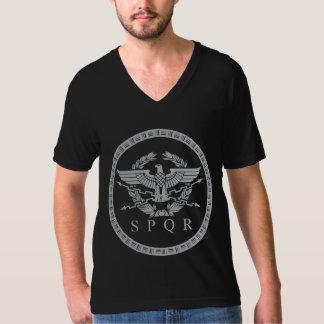 The Roman Empire Emblem V-neck T-Shirt. T-Shirt