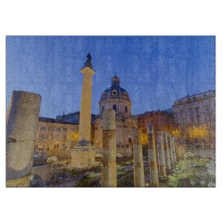 The Roman Forum in Rome Cutting Board