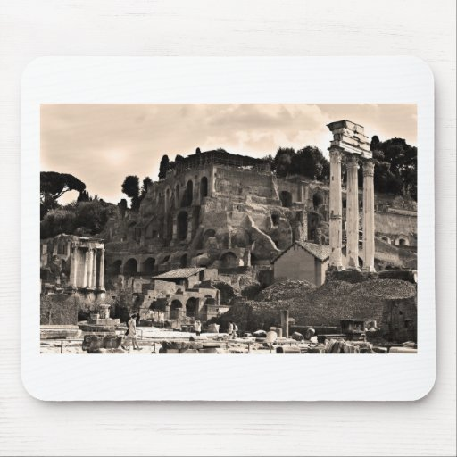 The Roman Forum Mouse Pads