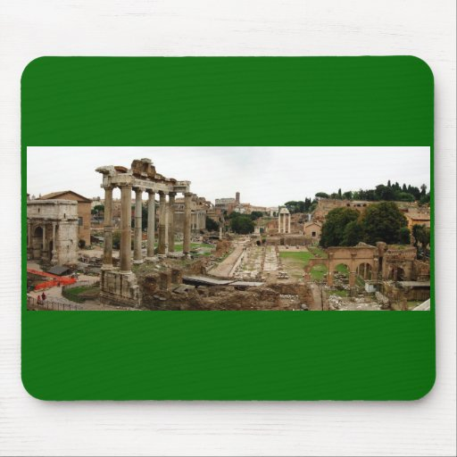 The Roman Forum Mouse Pad