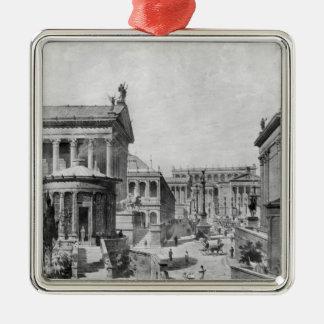 The Roman Forum of Antiquity, 1914 Metal Ornament