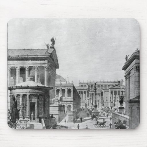 The Roman Forum of Antiquity, 1914 Mousepads