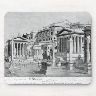 The Roman Forum of Antiquity Mouse Pad