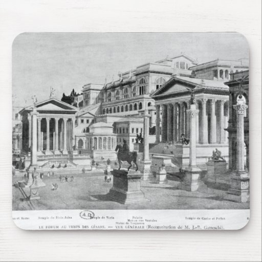 The Roman Forum of Antiquity Mousepad