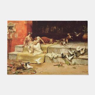 The Roman Maidens by Juan Luna. Doormat