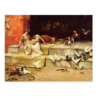 The Roman Maidens by Juan Luna. Postcard