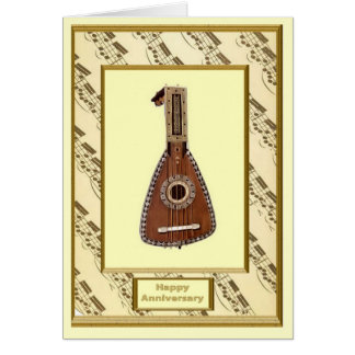 The romance of music,  Wind instruments Card