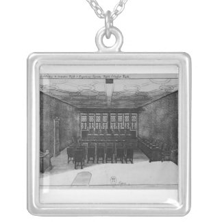 The Romer Hall at Frankfurt-am-Main Personalized Necklace