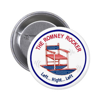 The Romney Rocking Chair 6 Cm Round Badge