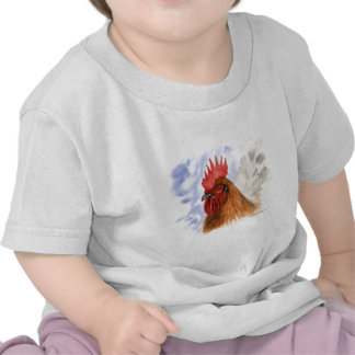 The Rooster design by Schukina A087 T Shirt
