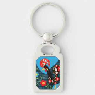 The Rooster of Portugal Key Ring
