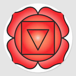 The Root Chakra Round Sticker