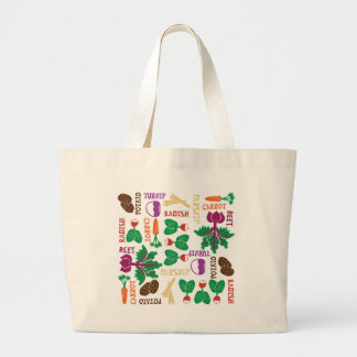The Roots of All Gardens Jumbo Tote Bag