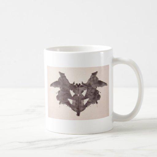 The Rorschach Test Ink Blots Plate 1 Bat, Moth Coffee Mug
