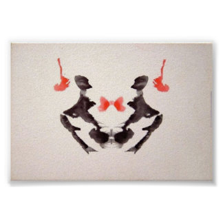The Rorschach Test Ink Blots Plate 3 Posters