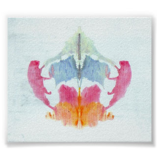 The Rorschach Test Ink Blots Plate 8 Posters