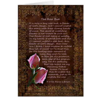 The Rose Bud Card