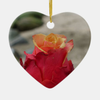 The Rose Ceramic Ornament