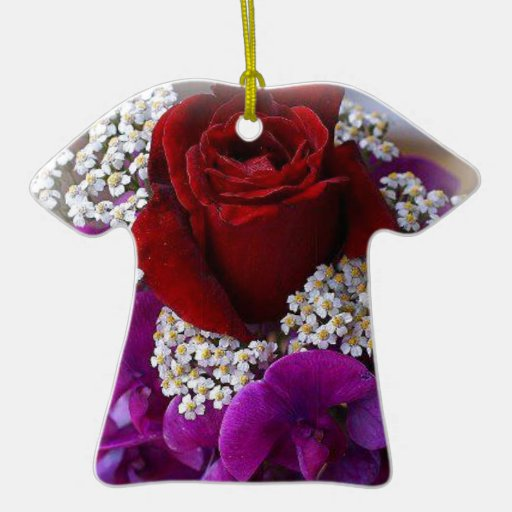 The Rose Christmas Tree Ornament
